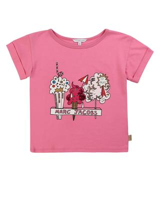 Ice Cream and Candy printed sequined T-shirt LITTLE MARC JACOBS