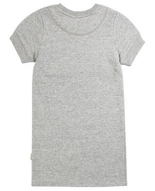 T-Shirt-Kleid aus Jersey mit Kristall-Logo LITTLE MARC JACOBS