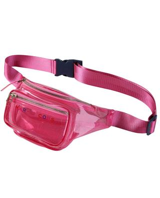 Glitter PVC belt bag LITTLE MARC JACOBS