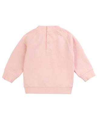 Fan logo print baby sweatshirt ZADIG & VOLTAIRE