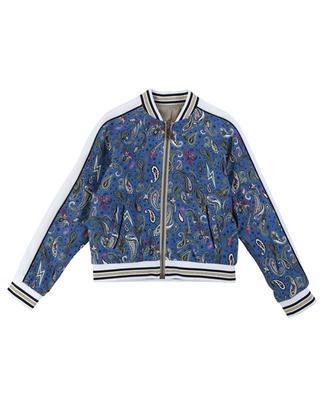 Ben reversible paisley and slogan print bomber jacket ZADIG & VOLTAIRE