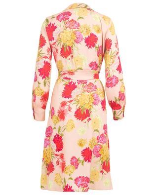 Tallio midi-length floral print shirt dress IBLUES