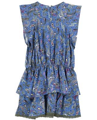 Kurzes ärmelloses Kleid mit Paisley-Print Freja ZADIG & VOLTAIRE