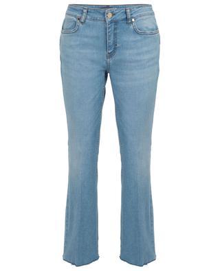 Gekürzte Bootcut-Jeans aus Baumwollmix Salsa IBLUES
