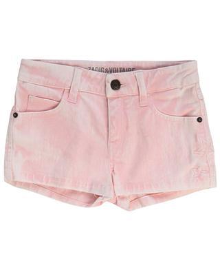 Sienna stars embroidered denim shorts ZADIG & VOLTAIRE