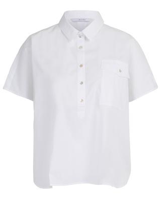 Zeus wide short-sleeved cotton shirt IBLUES