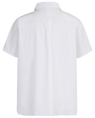 Weites kurzärmliges Hemd aus Baumwolle Zeus IBLUES