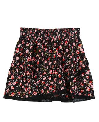 Alexa lace adorned floral print viscose skirt ZADIG & VOLTAIRE