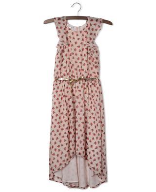Strawberry printed asymmetrical sleeveless dress LIU JO
