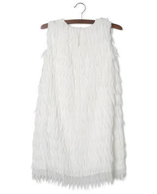 Short sleeveless scalloped dress LIU JO
