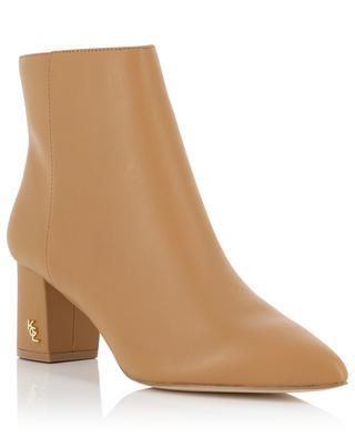 Burlington 60 pointy toe heeled leather ankle boots KURT GEIGER LONDON