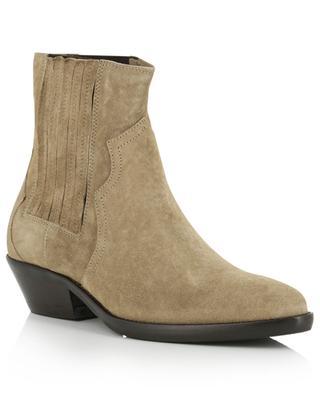 Cowboy spirit suede ankle boots BONGENIE GRIEDER