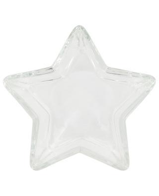 Servierteller aus Glas in Sternform KAHEKU SCHONES WOHNE