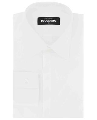 Chemise à manches longues en coton DSQUARED2