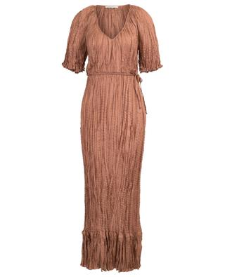 Kleid aus Crinkle-Seide Twinkie MES DEMOISELLES