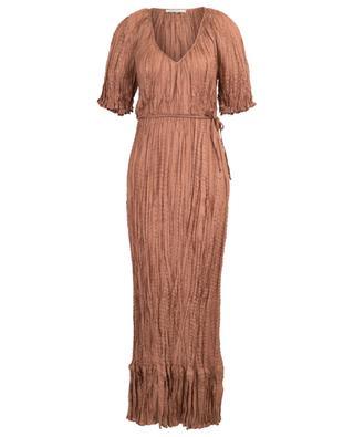 Twinkie crinkle silk dress MES DEMOISELLES