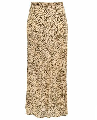 Roseton panther print straight and breezy skirt MES DEMOISELLES