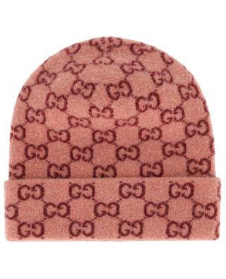 Bonnet en laine avec logo GG GUCCI