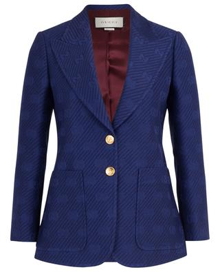 My Body My Choice GG jacquard blazer GUCCI