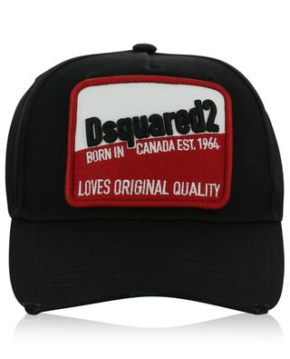 Loves Original Quality patch distressed baseball cap DSQUARED2