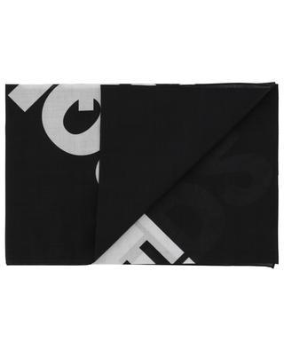 Maxi Logo printed cotton bandana DSQUARED2