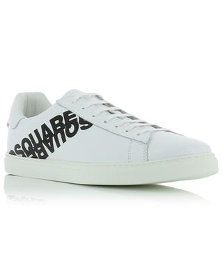 Baskets en cuir lisse New Tennis DSQUARED2