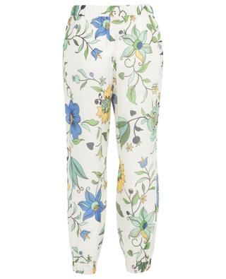 New Ivory Love Floral beach trousers TORY BURCH