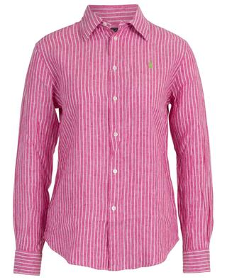 Striped linen shirt POLO RALPH LAUREN