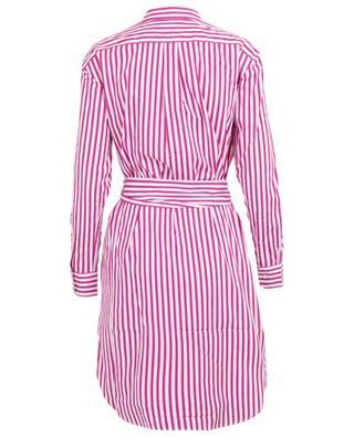 Striped cotton shirt dress POLO RALPH LAUREN