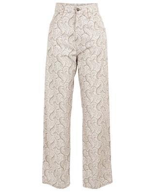 Pantalon large en coton imprimé ETRO