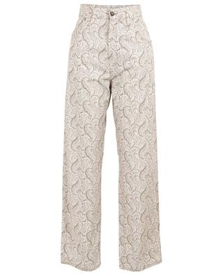 Wide-leg printed cotton trousers ETRO