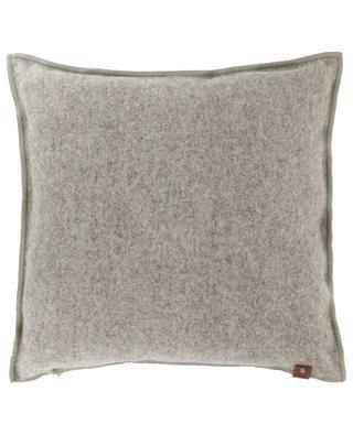 Aure cross patch wool cushion ARPIN