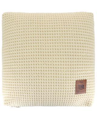 Kissen mit Waffel-Textur aus Wolle Rimaye ARPIN