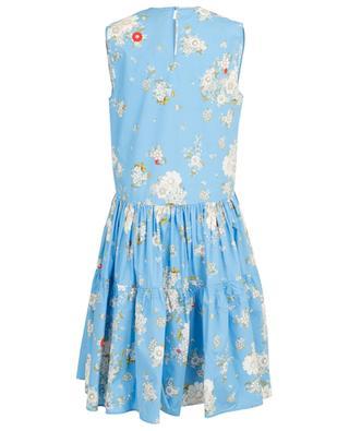 Sleeveless midi dress in floral poplin N°21