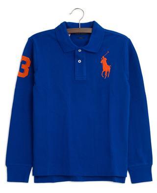 Logo embroidered long-sleeved polo shirt POLO RALPH LAUREN