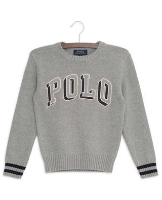 Polo 3D embroidered cotton jumper POLO RALPH LAUREN