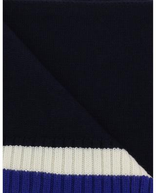 Polo embroidered wool scarf POLO RALPH LAUREN