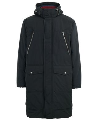 Padded hooded parka in technical cotton BALLY