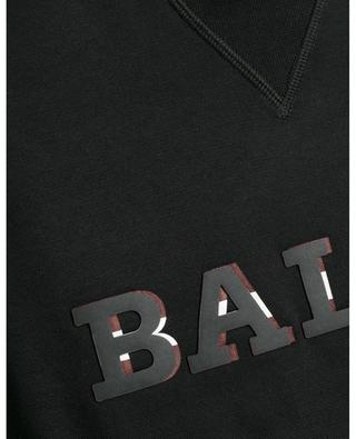 Bally Stripe detail logo print sweatshirt BALLY