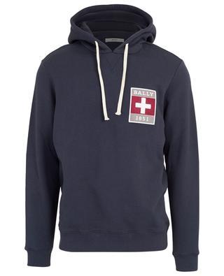 Sweatshirt aus Baumwolle mit Kapuze und Logo BALLY