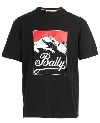 Mountain print cotton T-shirt BALLY