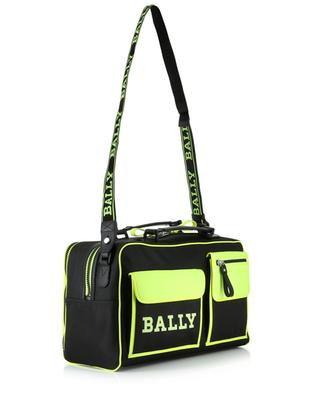 Jakob nylon travel bag with neon details BALLY