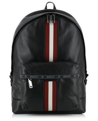Harper Bally Stripe leather backpack BALLY