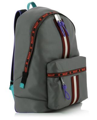 Harper multicolour detail leather backpack BALLY