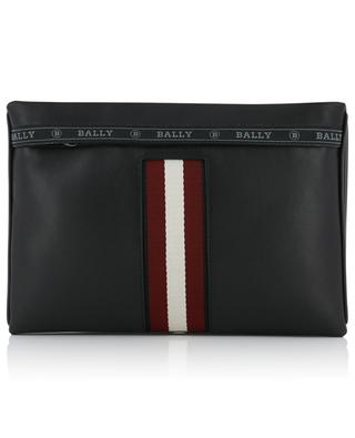 Sacoche en cuir avec Bally Stripe Harvey BALLY