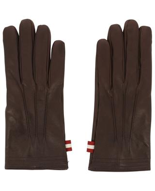 Gants en cuir d'agneau Bally Stripe BALLY