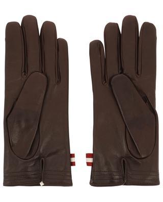 Bally Stripe lambskin gloves BALLY