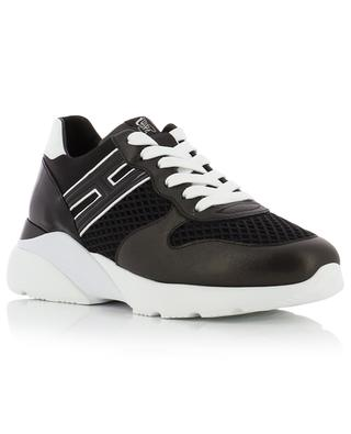 Active One H385 monogrammed mesh and leather sneakers HOGAN