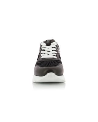 Sneakers aus Maschen und Leder mit Monogramm Active One H385 HOGAN