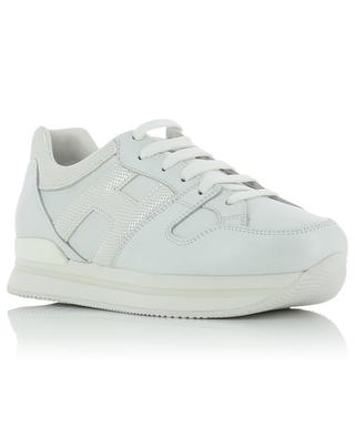 Sportive H222 iridescent leather sneakers HOGAN